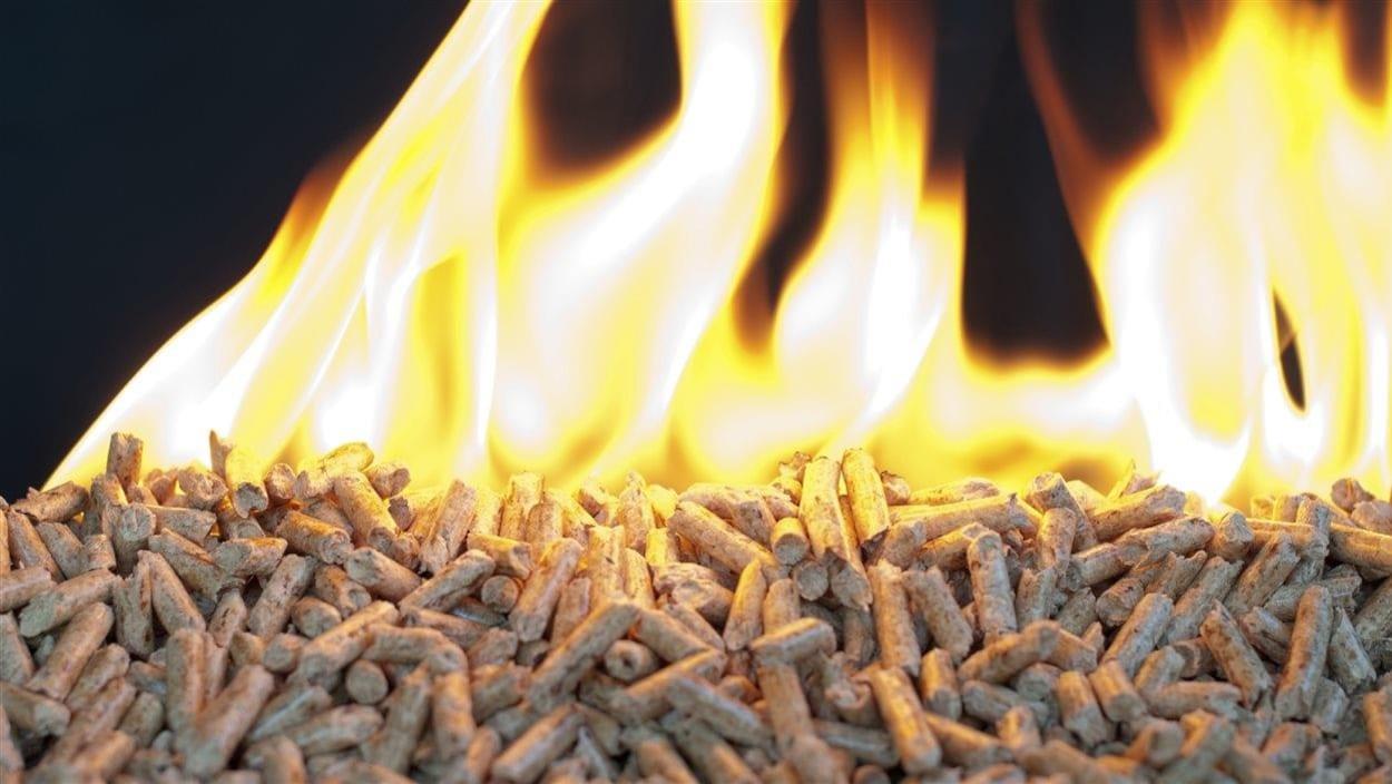 Chauffage aux granules de bois