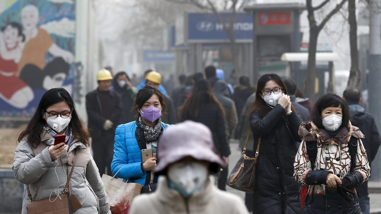 9 millions de personnes sont mortes de la pollution en 2015
