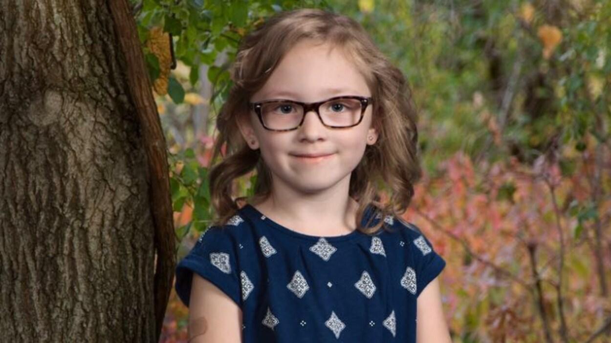 La petite Chloe a été laissée au mauvais endroit à son retour de l'école le 17 novembre 2016.
