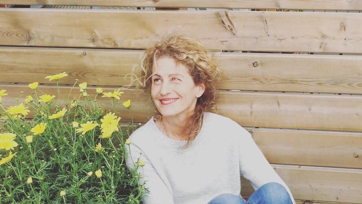 L'auteure Christine Gonthier