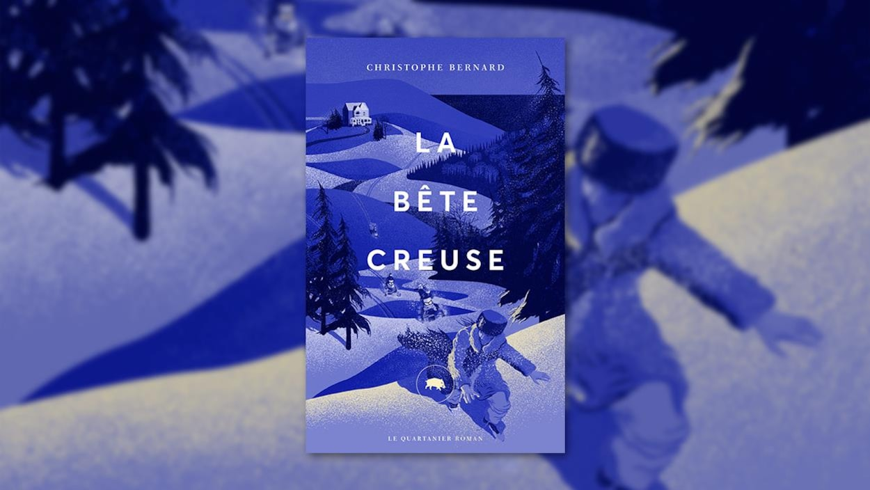 La couverture du livre « La bête creuse » de Christophe Bernard
