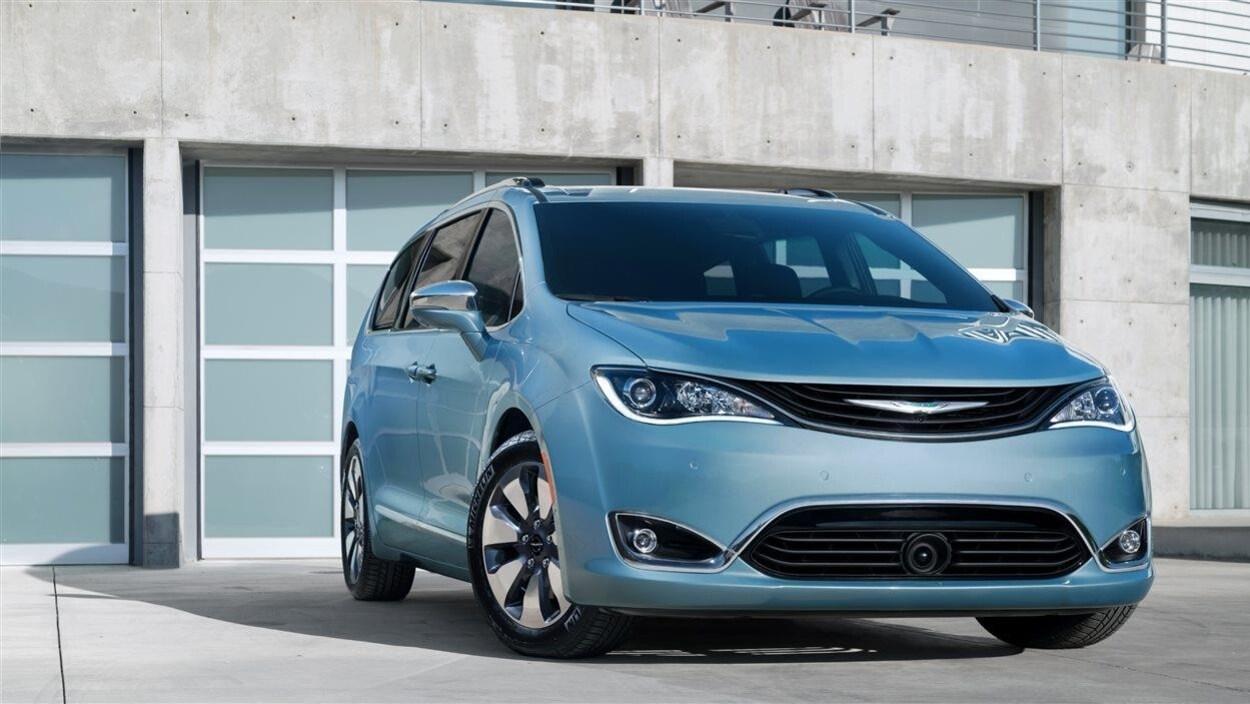Nouvelle Chrysler Pacifica hybride