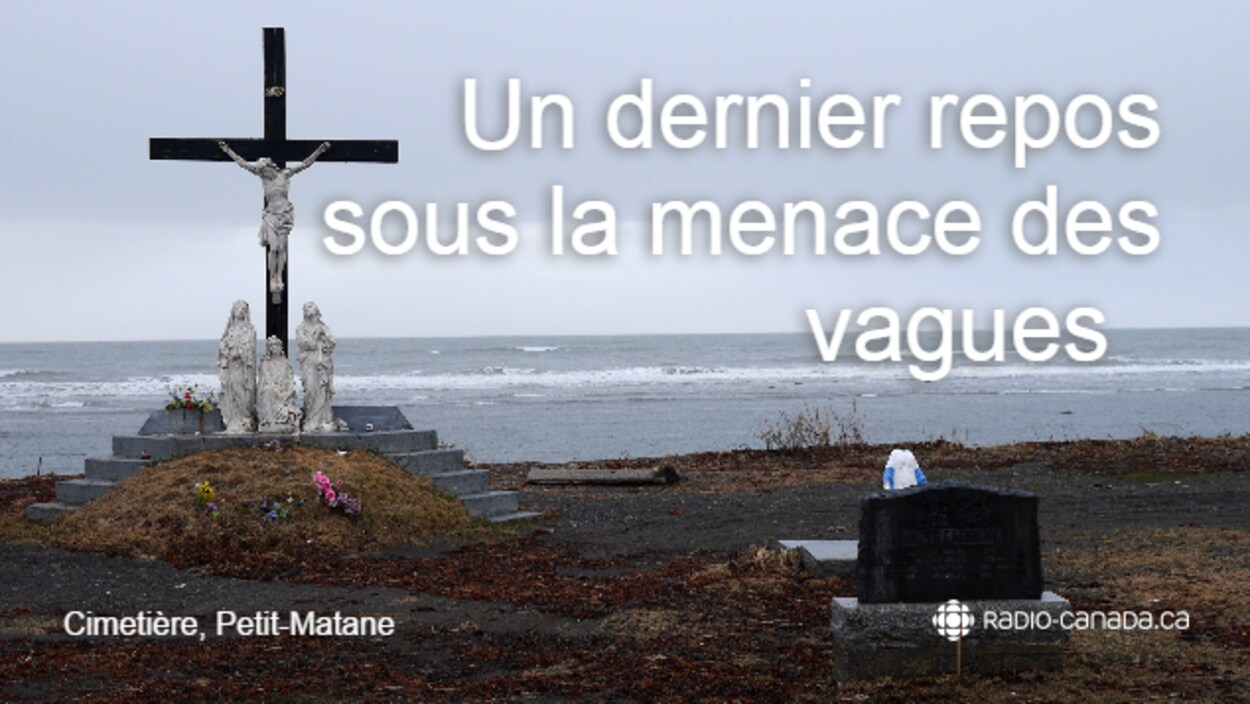 Le calvaire du cimetière de Petit-Matane