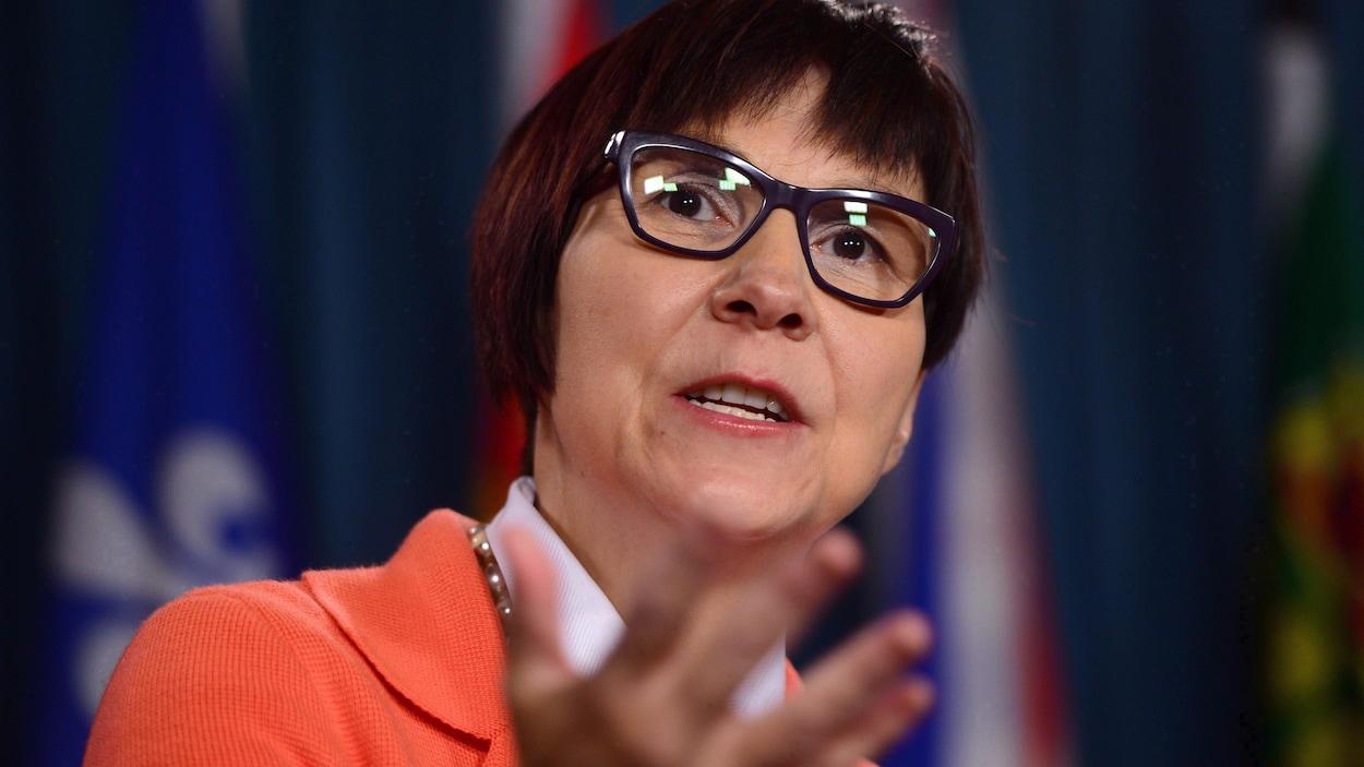 Cindy Blackstock, professeure à l'Université McGill et directrice générale de la Société de soutien à l'enfance et à la famille des Premières Nations du Canada