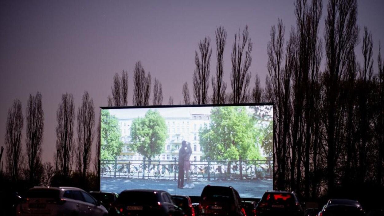 Un ciné-parc en Allemagne.