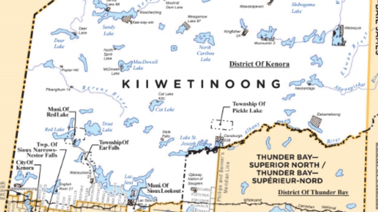 Circonscription ontarienne de Kiiwetinoong.