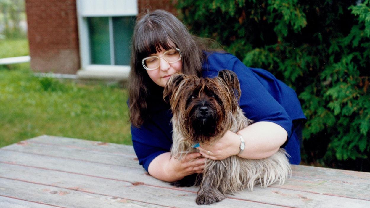 Portrait de l'auteure Claudine Bertrand-Paradis