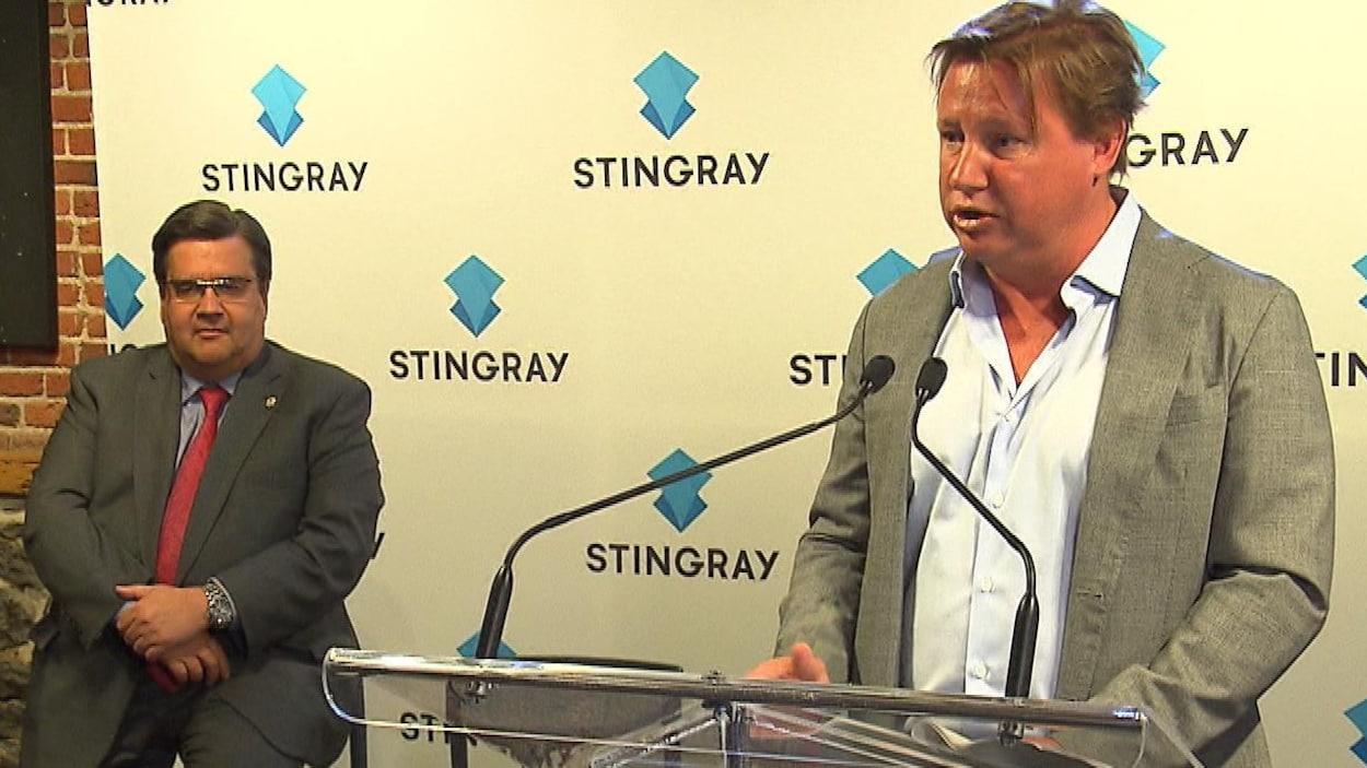 Denis Coderre nommé conseiller spécial de Stingray