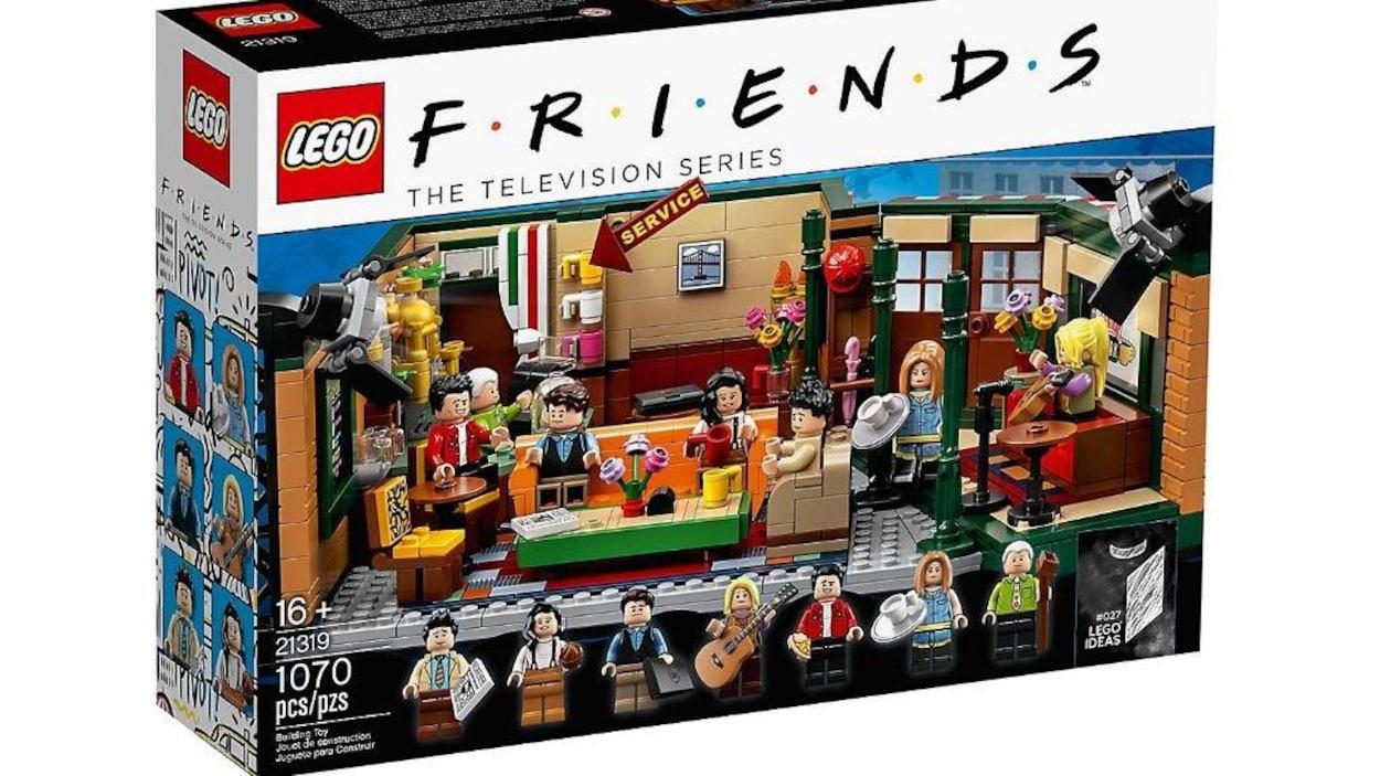 Le Central Perk arrive en LEGO — FRIENDS