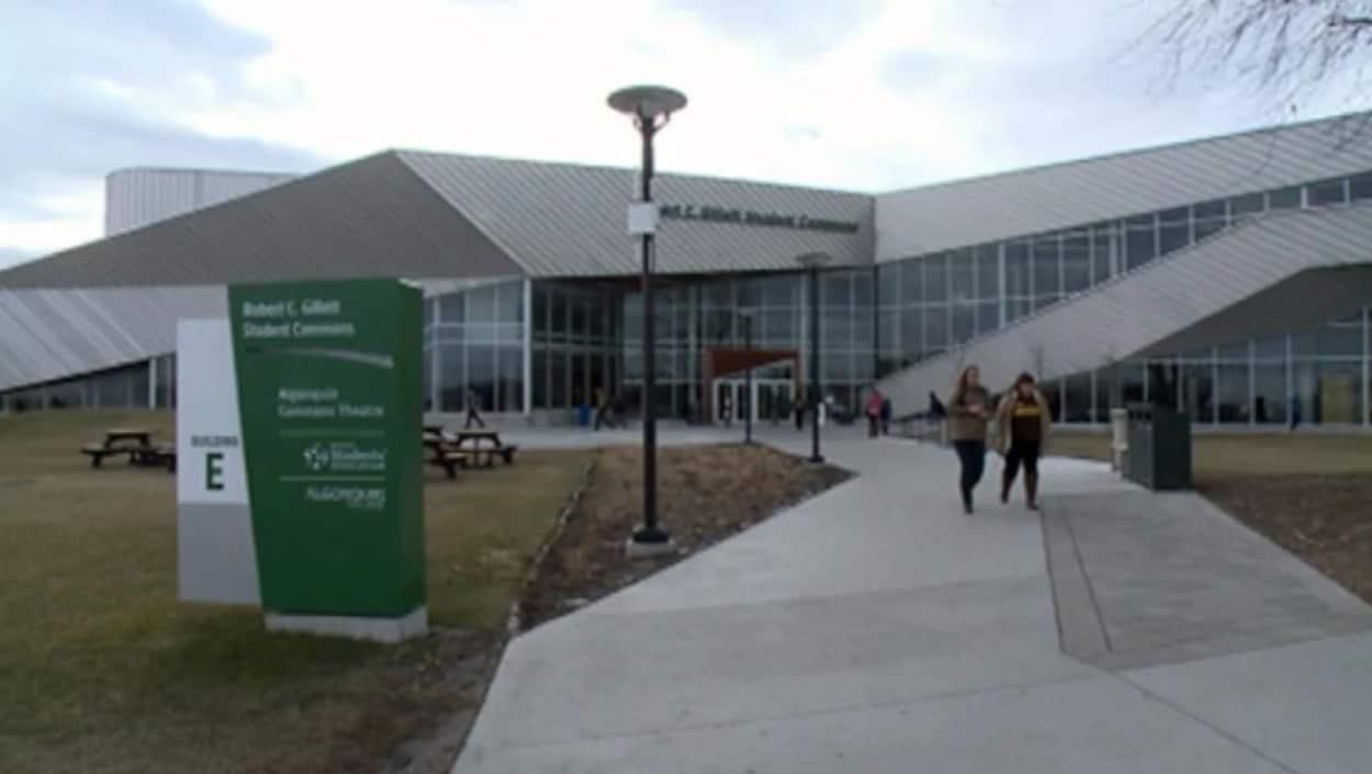 Un bâtiment du collège Algonquin.
