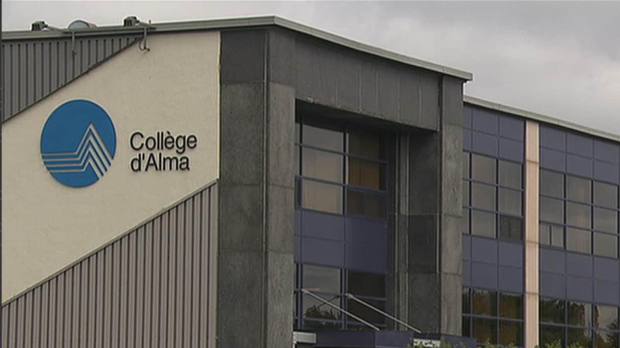 L'extérieur de Collège d'Alma