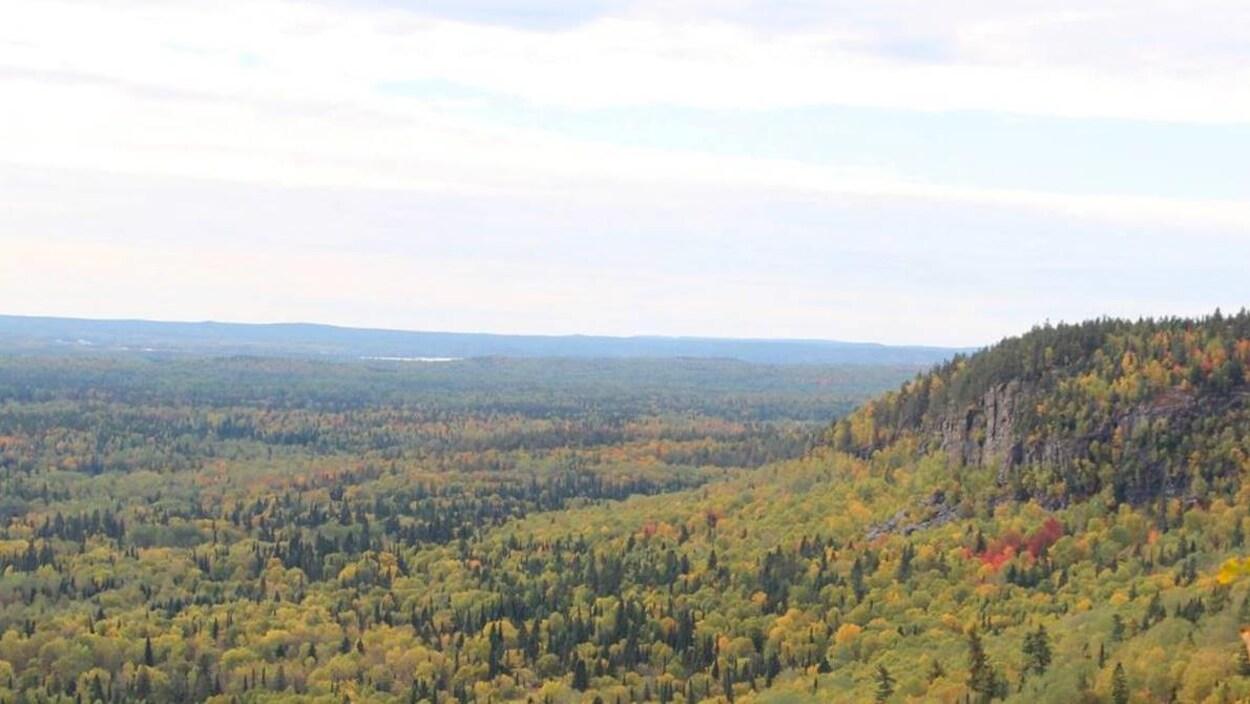 Point de vue du belvédère des collines Kekeko