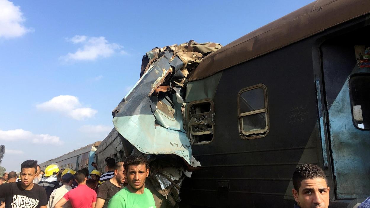 Collision mortelle en Égypte