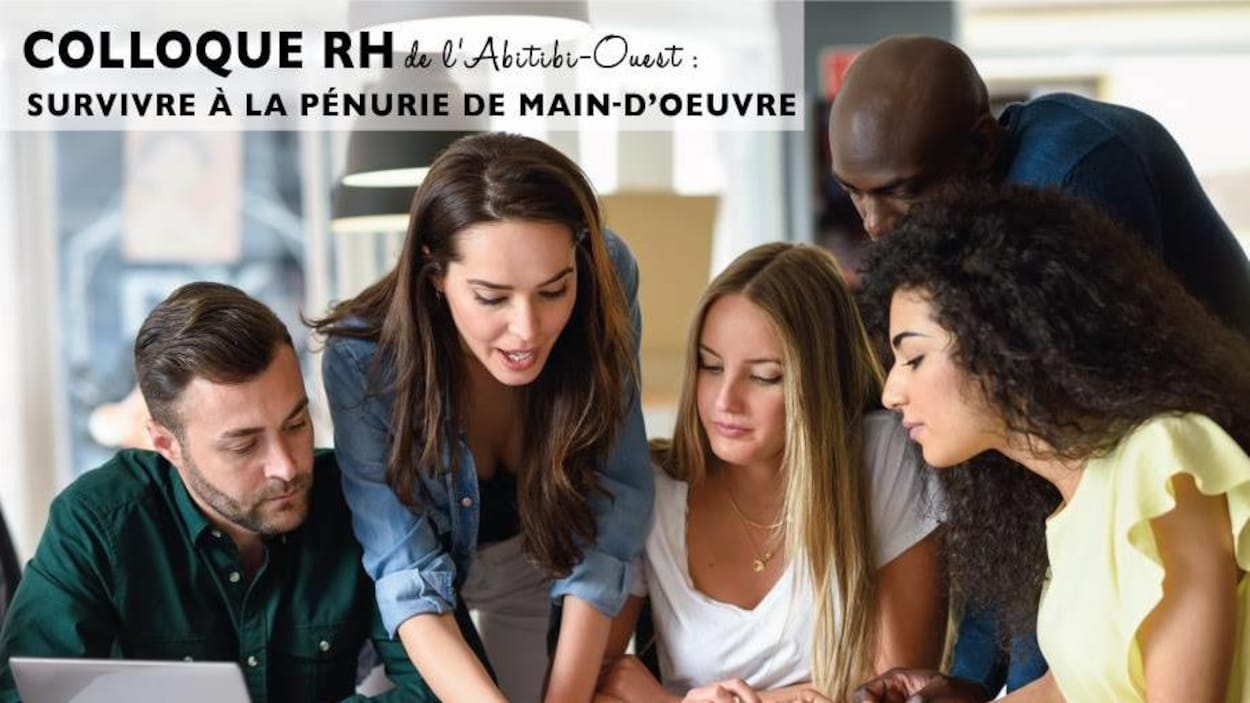 Le premier Colloque RH de l'Abitibi-Ouest se déroule mercredi au Centre Saint-André de La Sarre sous le thème « Survivre à la pénurie de main-d'œuvre ».
