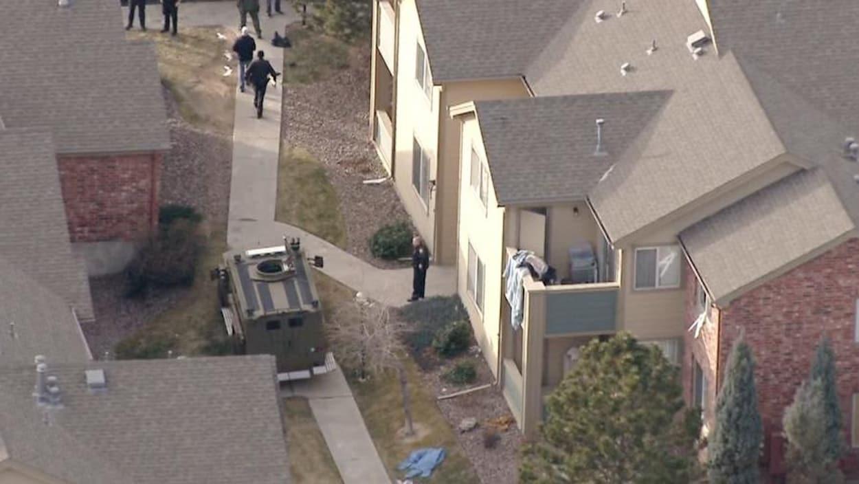 Fusillade au Colorado: un policier tué, l'assaillant abattu
