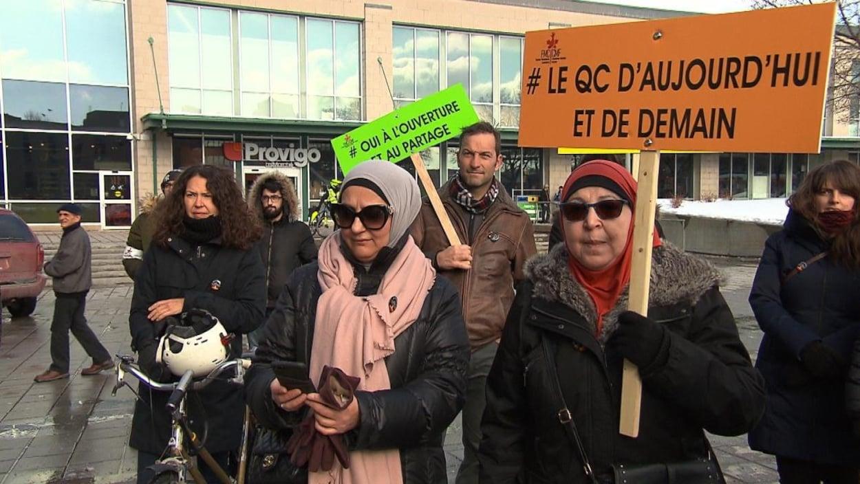 Un rappel nécessaire avec l'augmentation des crimes haineux — Commémoration à Québec