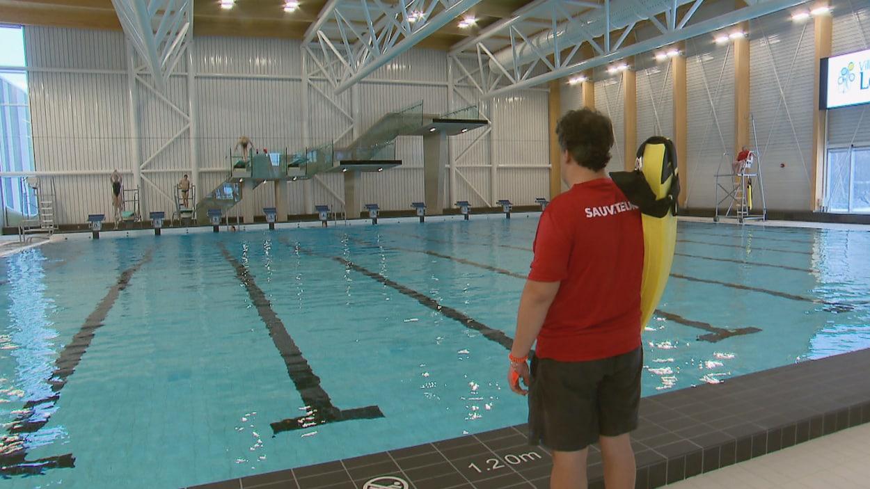 Une piscine du nouveau complexe aquatique de Lévis