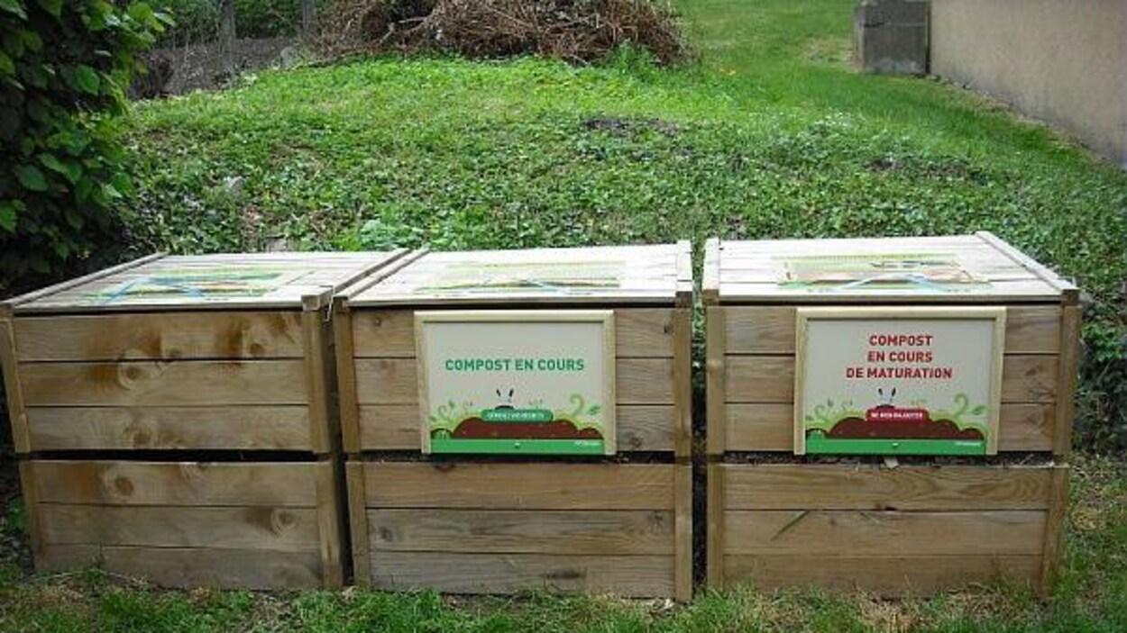 Exemple d'un projet de compostage collectifs ailleurs au Québec présenté das le formulaire disponible sur la page Facebook du mouvement « Demain, ma Trifluvie ».