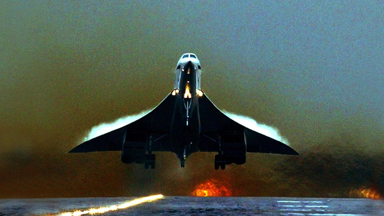 Le Concorde décollait avec un niveau sonore de 119,4 décibels.