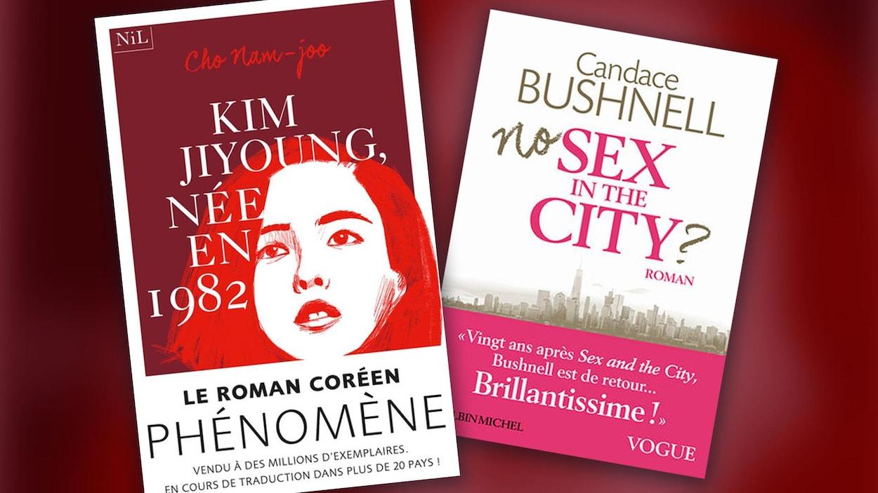 Deux livres évoquant divers aspects de la condition féminine sont au menu cette semaine!