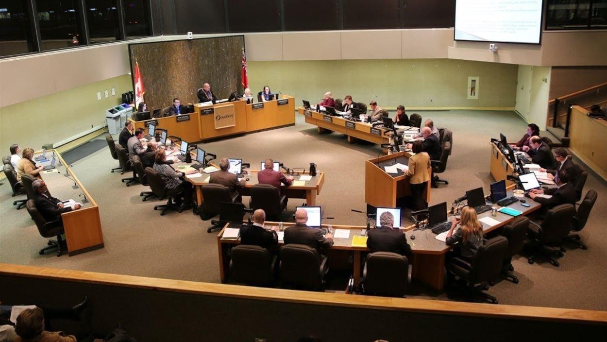 Réunion du conseil municipal du Grand Sudbury