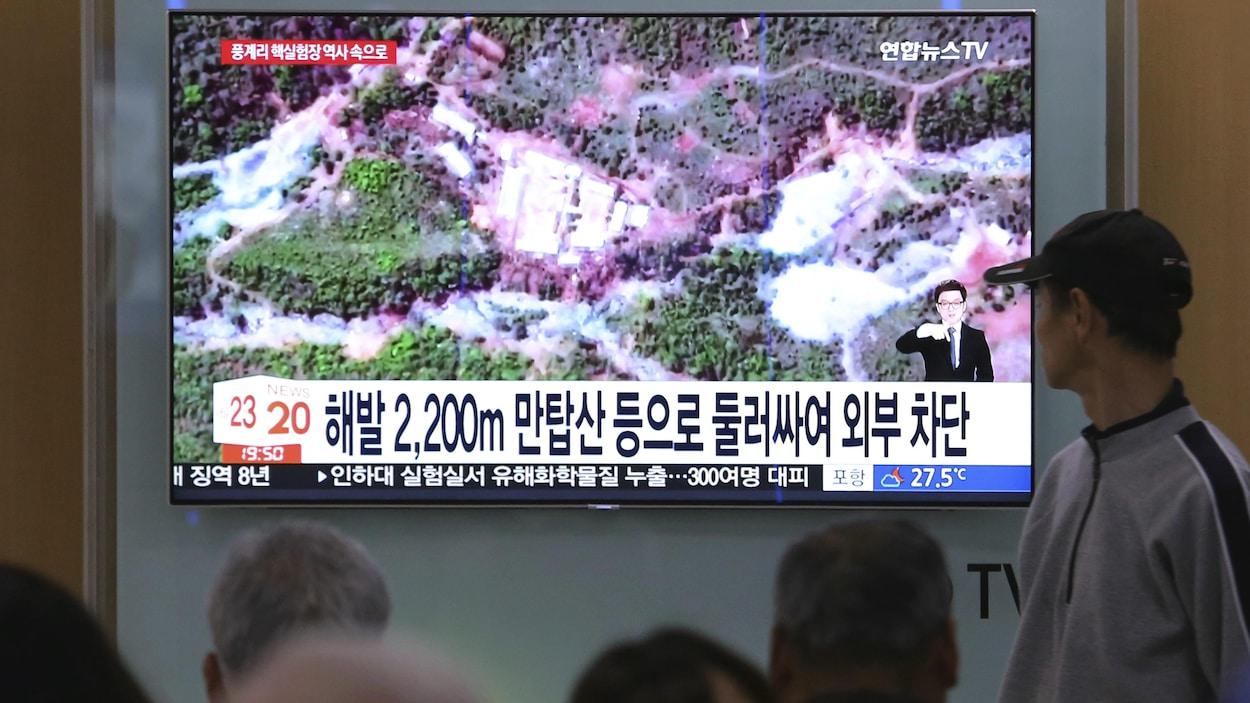 Pyongyang démantèle son site d'essais nucléaires de Punggye-ri — Corée du Nord