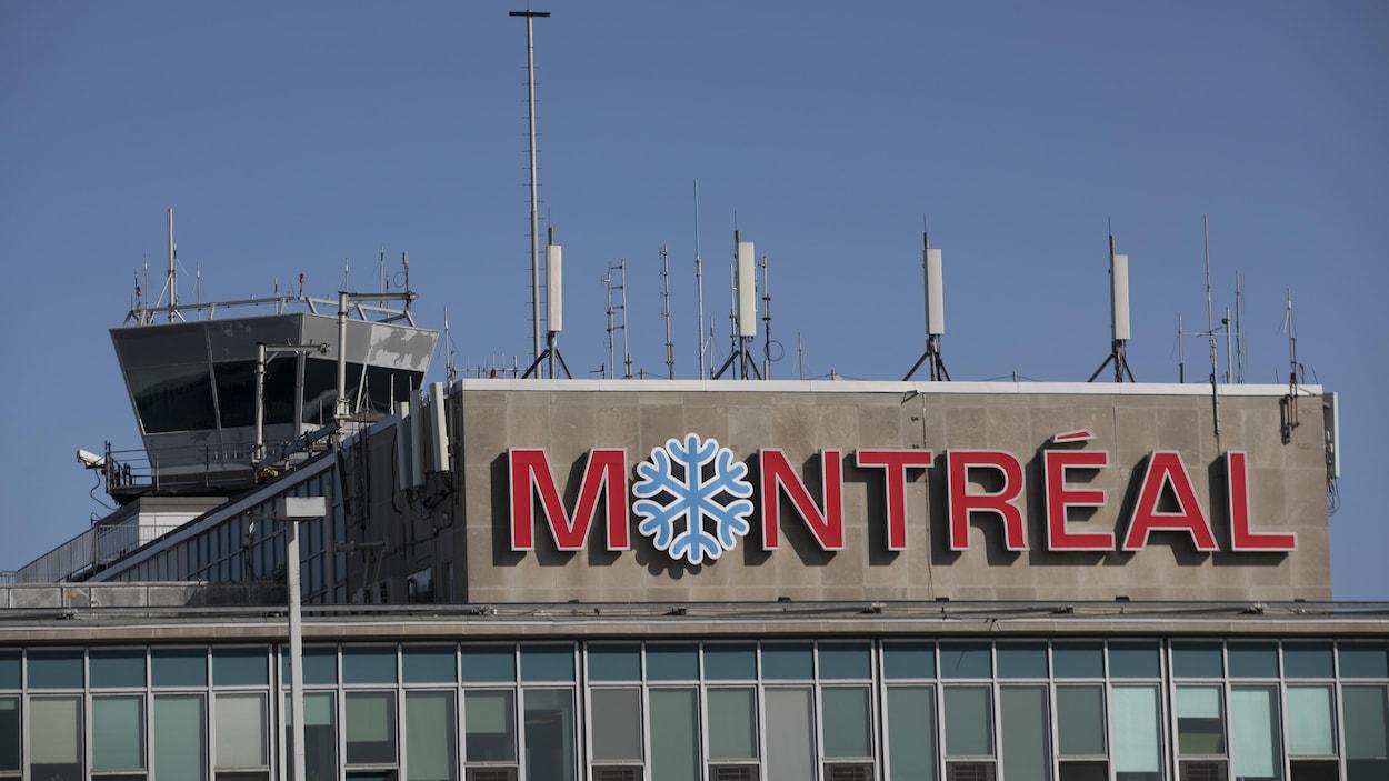 L'aéroport Pierre-Elliott Trudeau à Montréal.