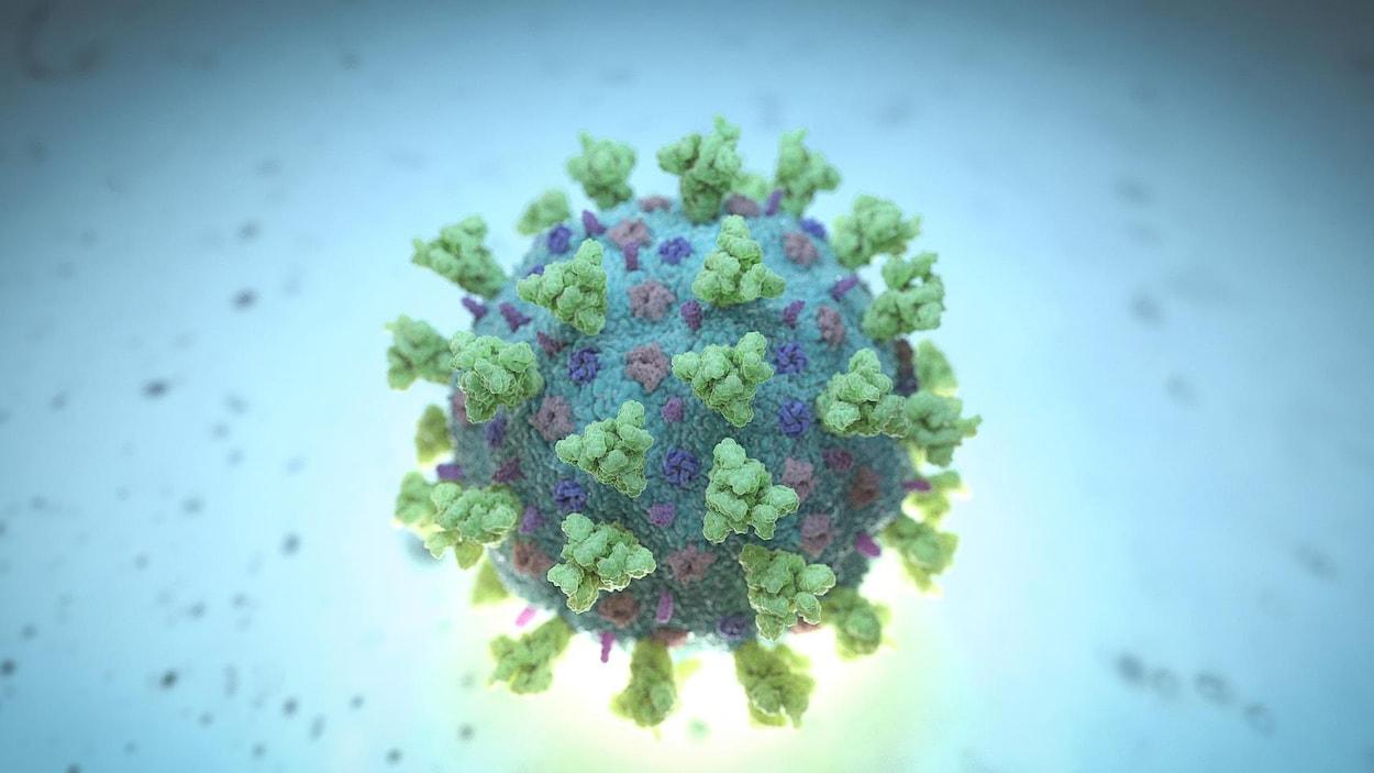 Image d'une molécule.