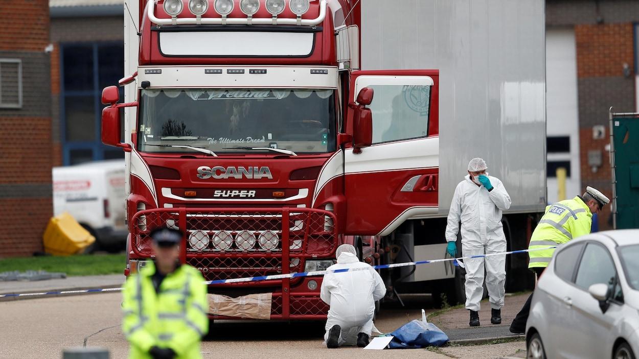 Migrants Morts En Angleterre Le Chauffeur Du Camion Accusé