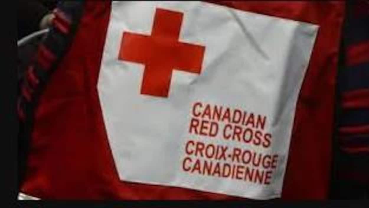 Logo de la Croix-Rouge canadienne.
