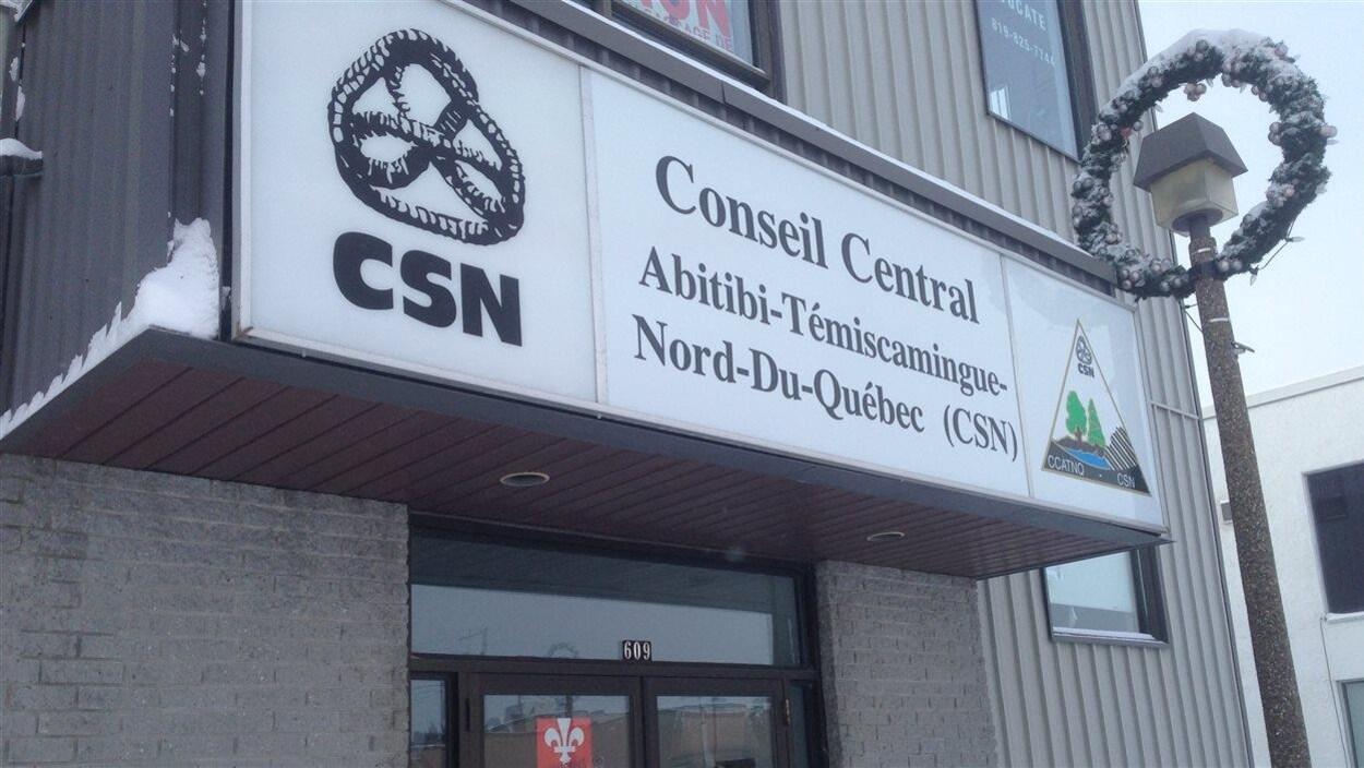 Bureau régional de la CSN