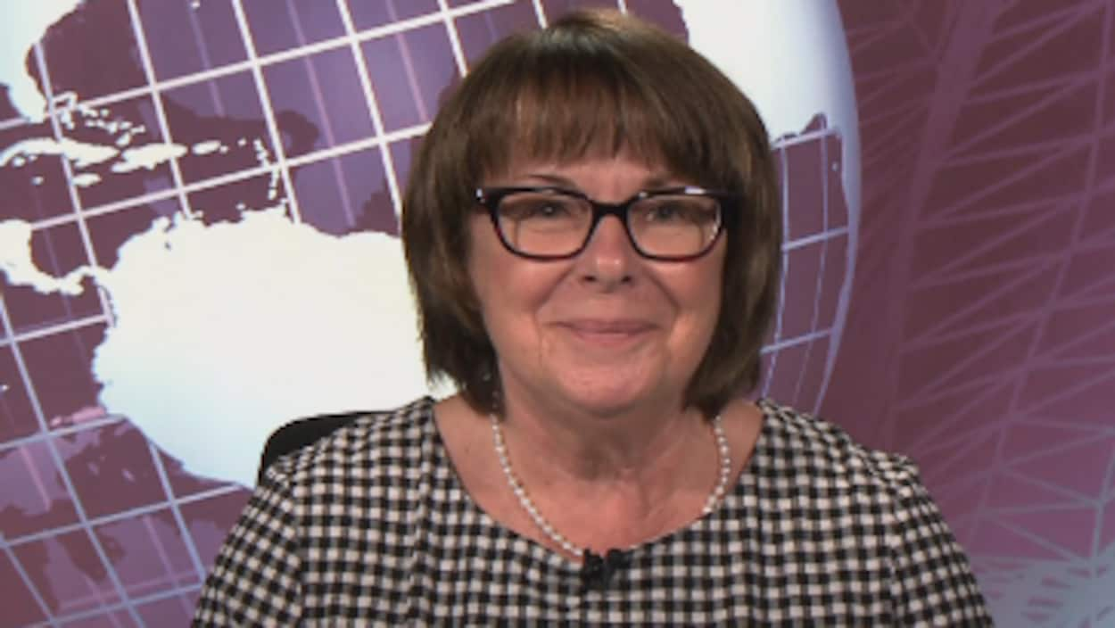 La nouvelle présidente de la CSQ Sonia Éthier.