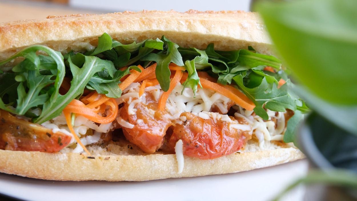 Franky Johnny: des sandwichs vite faits, bien faits àSaint-Sauveur