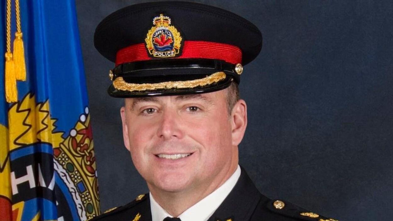 Une photo officielle du nouveau chef de police d'Halifax, Dan Kinsella.