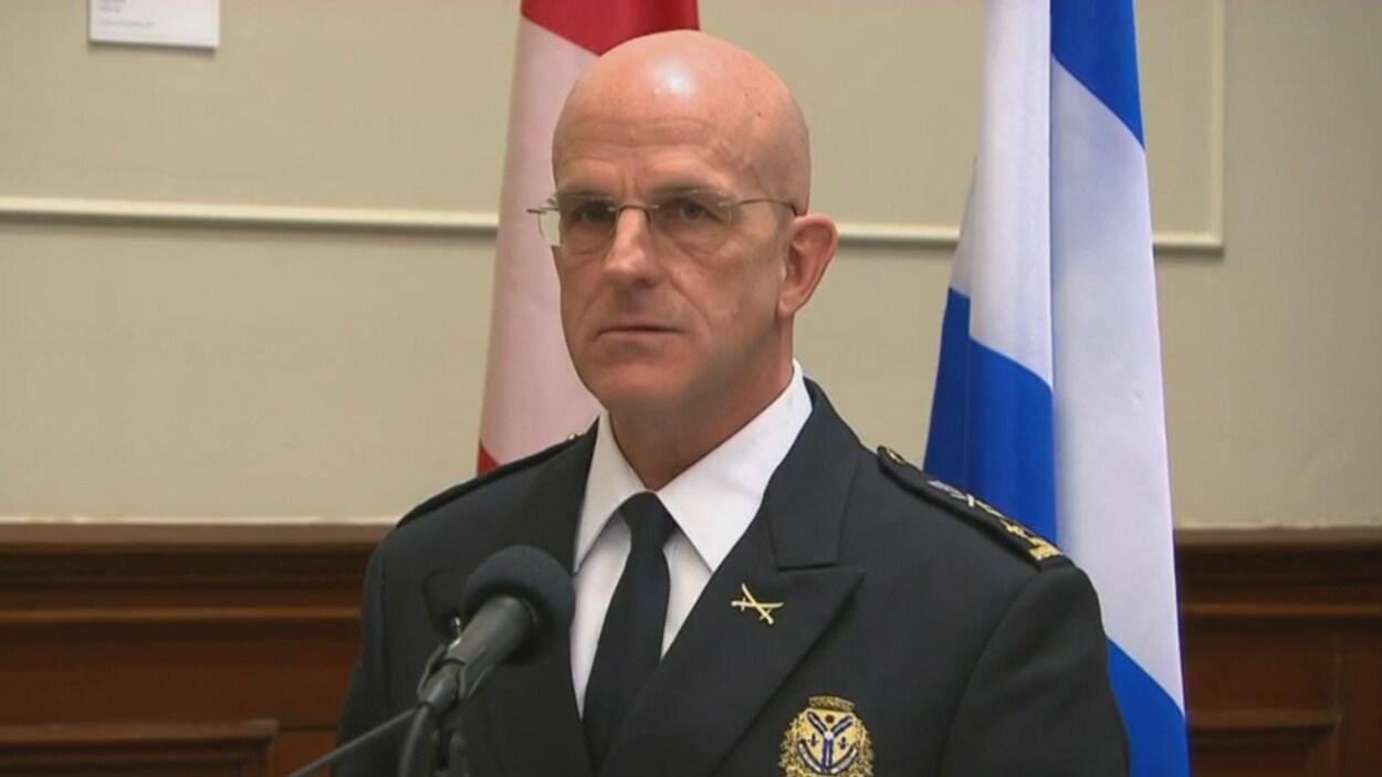 Danny McConnell, directeur du Service de police de Sherbrooke.