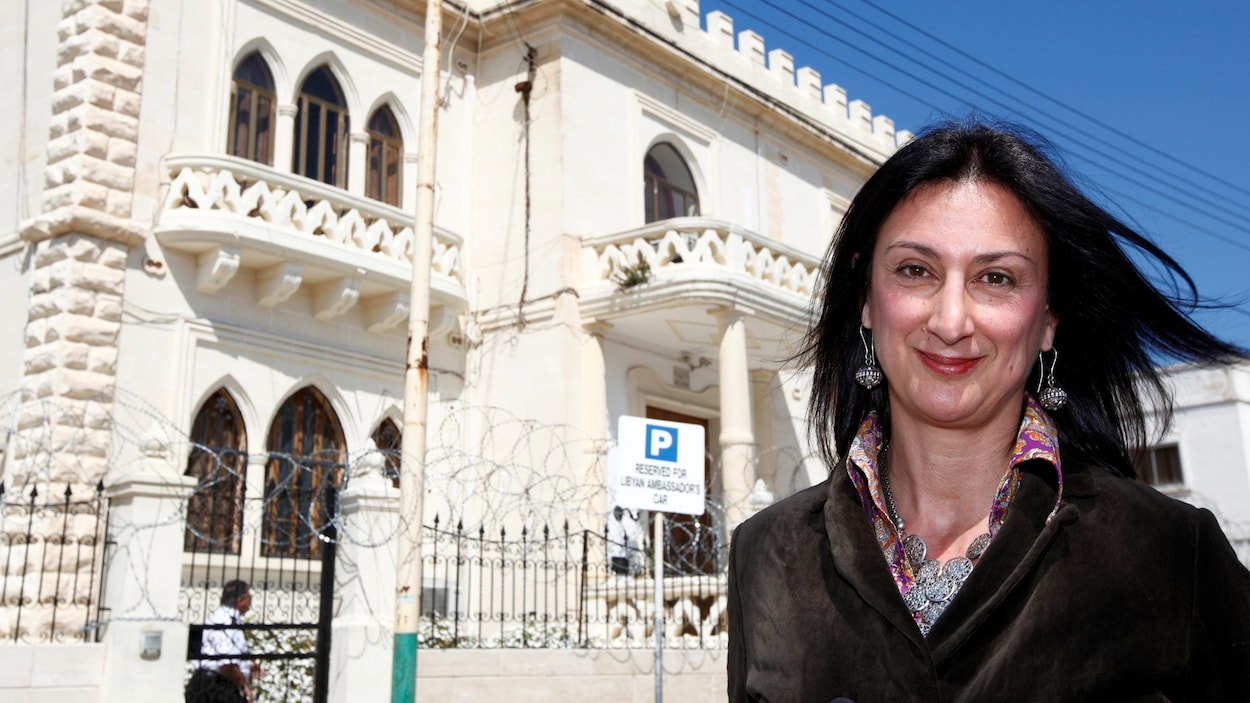 Photo de la journaliste Daphné Caruana Galizia prise le 6 avril 2011.