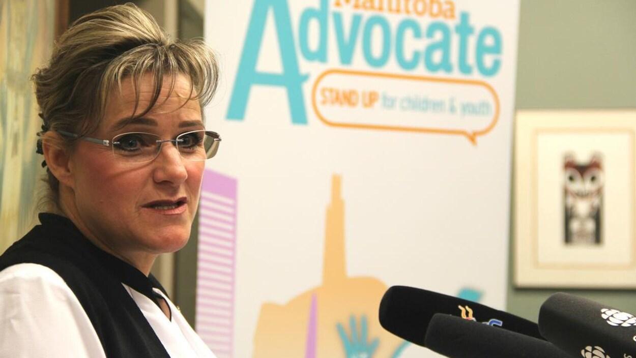 Daphne Penrose, la protectrice des enfants du Manitoba.
