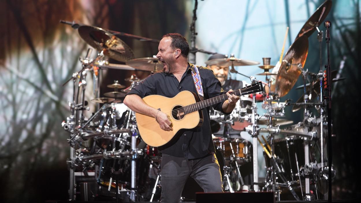 Le groupe américain Dave Matthews Band a clôturé la 51e édition du FEQ.
