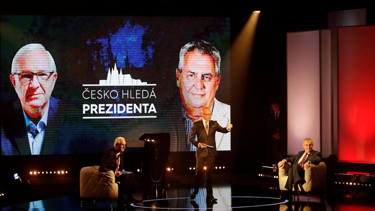 Le président Milos Zeman réélu — République tchèque