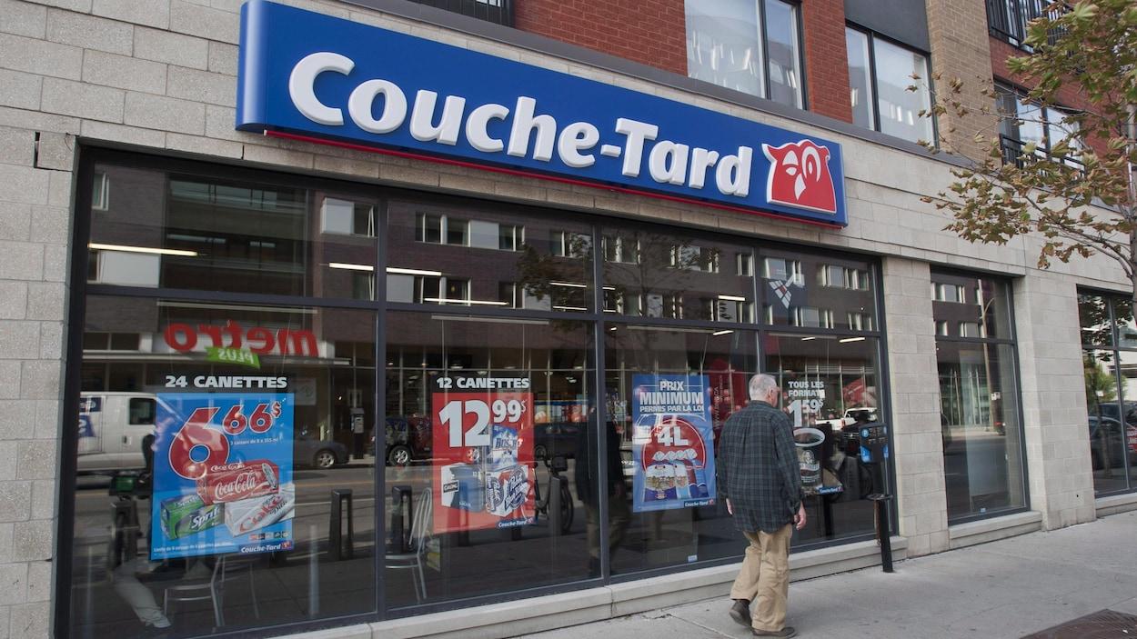Un dépanneur Couche-tard à Montréal
