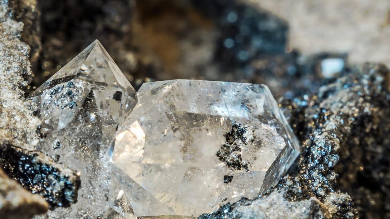 Du diamant.