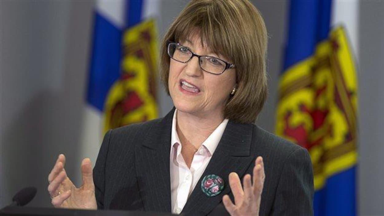 La ministre de la Justice de la Nouvelle-Écosse, Diana Whalen