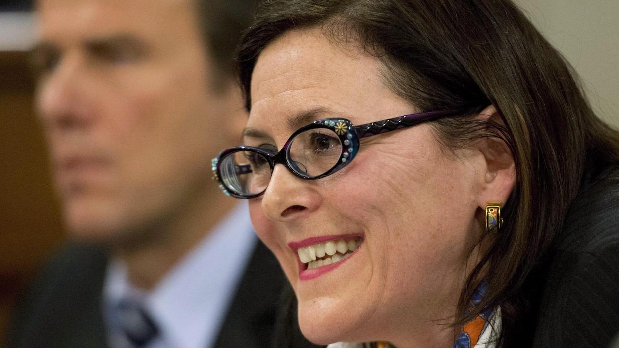 La présidente de la Fédération des médecins spécialistes du Québec, Diane Francoeur,