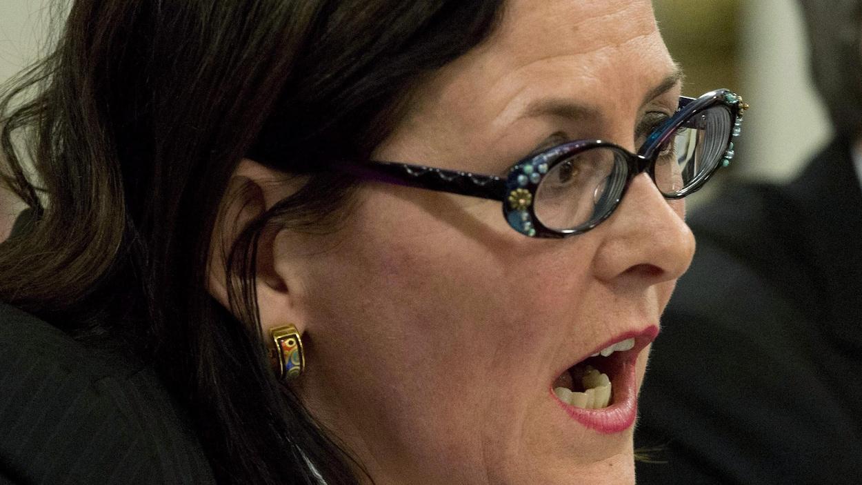 Diane Francoeur, présidente de la Fédération des médecins spécialistes du Québec.