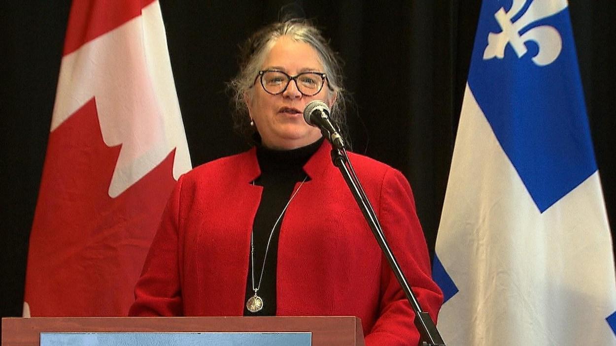 La ministre du Revenu, Diane Lebouthillier