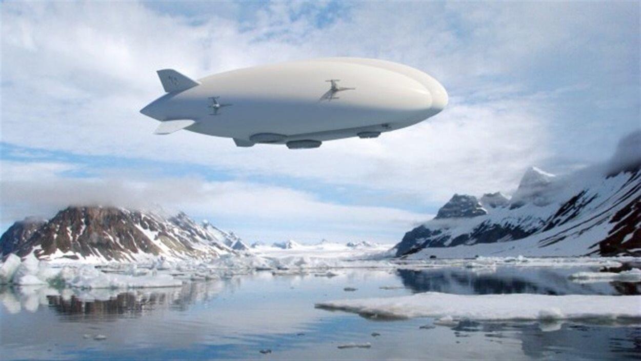Le dirigeable conçu par Lockheed Martin.