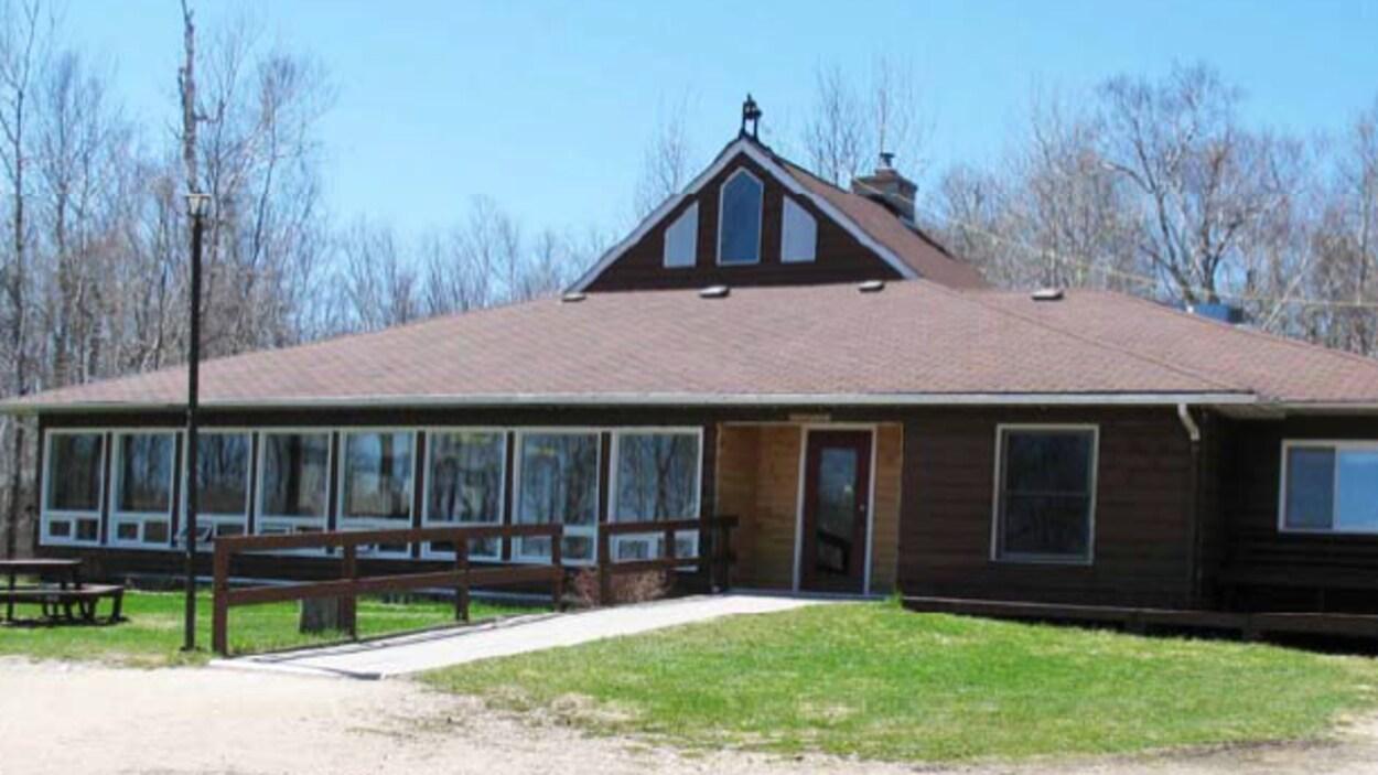 Camp Moose Lake, situé au sud-est de Winnipeg