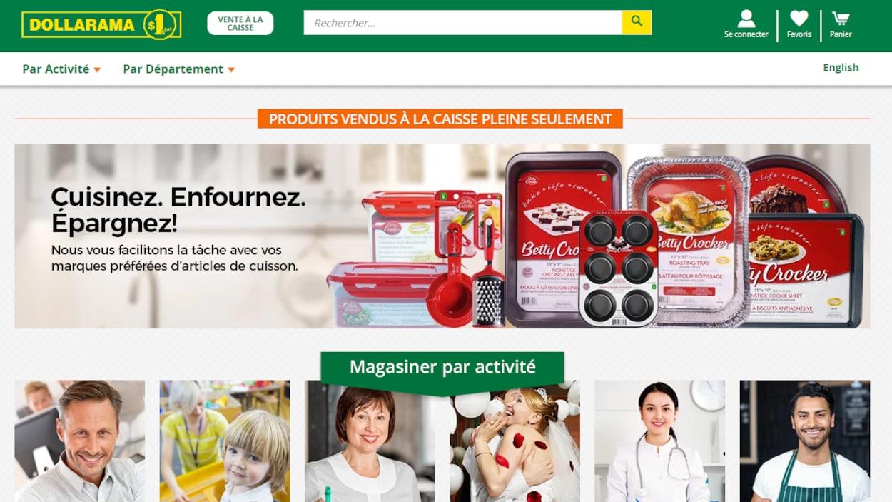 Dollarama se lance dans la vente en ligne.