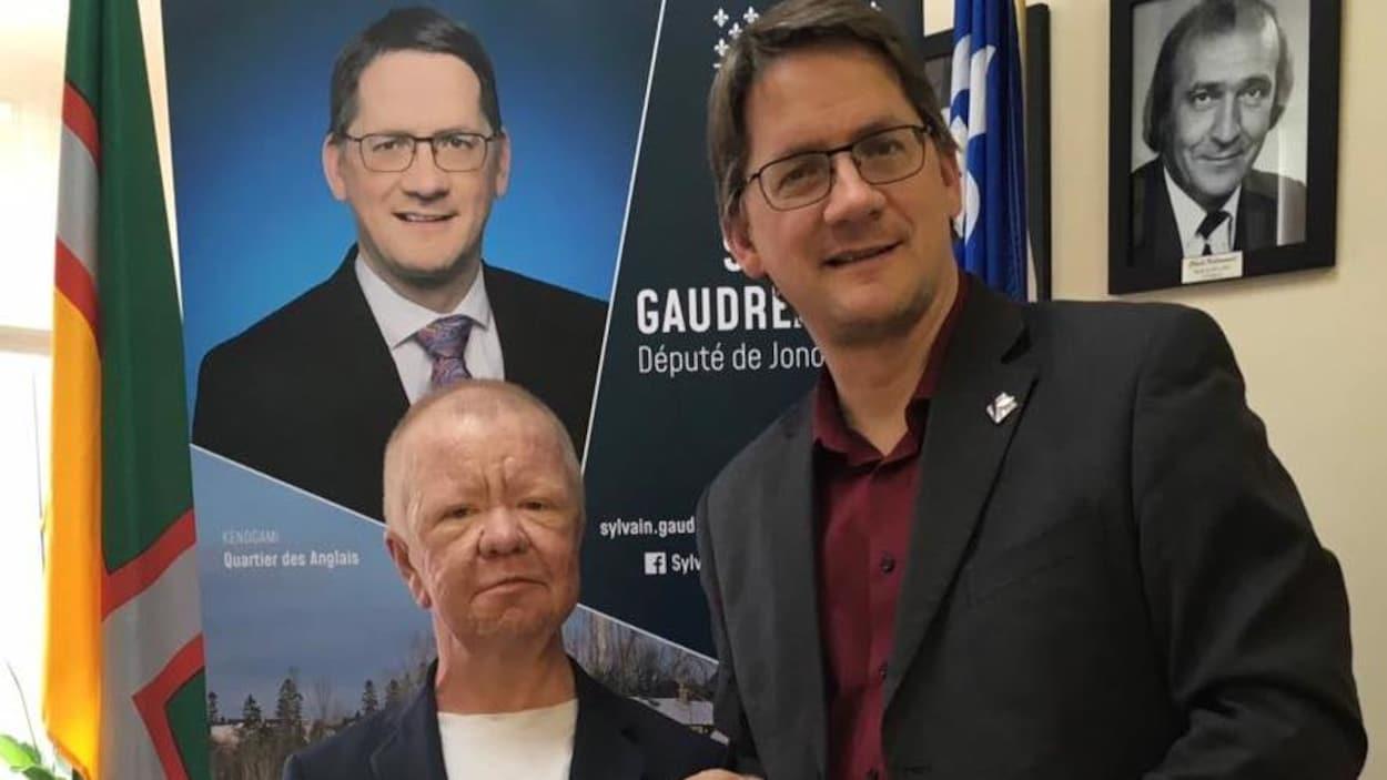 Fabrice Tremblay et Sylvain Gaudreault.