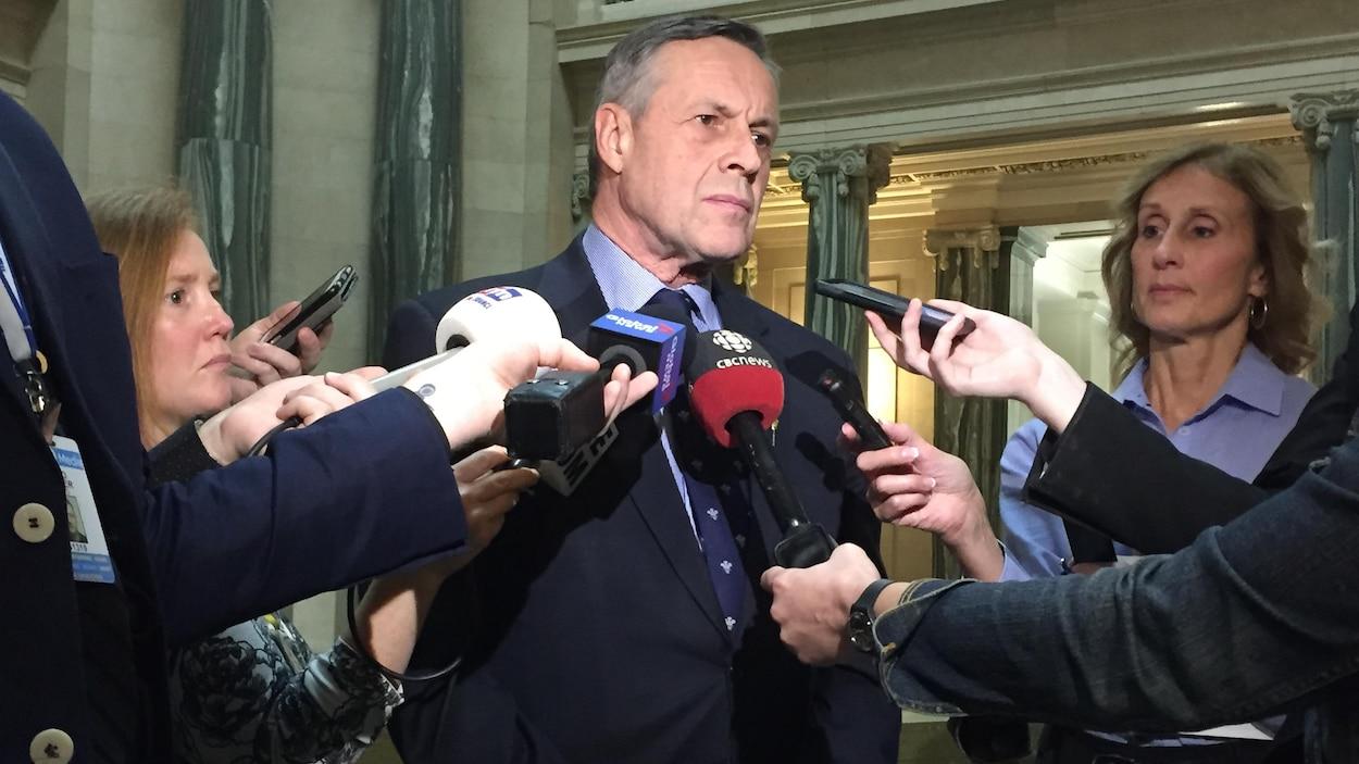 Le ministre de la Justice de la Saskatchewan, Don Morgan.